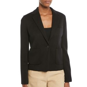 Vince Black Patch Pocket 2 Button Blazer Size 8